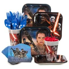 Star Wars Episode VII Standard Kit | Discount Themed Tableware Decorations and Accessories