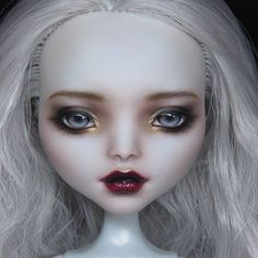 Repaint the Interior of Your Home Monster High Clothes, Custom Monster High Dolls, Monster High Repaint, Custom Dolls, Ever After High, Doll Eyes, Doll Face, Ooak Dolls, Art Dolls