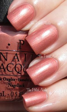Hands Off My Kielbasa! by OPI (Euro Centrale Spring 2013)  Just bought this shade today!  I can't wait to try it!