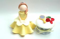 Disney prinsessen op cupcakes - Culy.nl