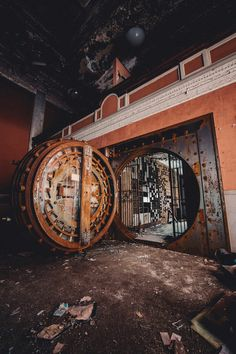 welcome to the vaults #oldbank #volt #safe #stores #money #abandoned #rotting #lockeddown #bank #ghosts #bankmanager www.DeadLive co.uk