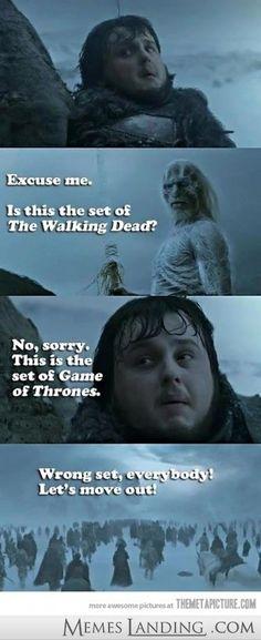 Wrong scene