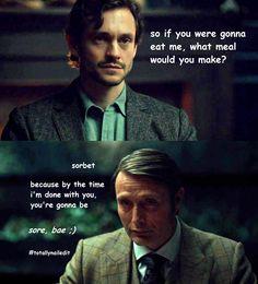Hannibal & Will: Sorbet
