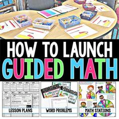 How to Launch Guided Math FREEBIE!