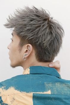 グランジアップバンク BACKサムネイル Asian Undercut, Hairstyle Men, Men Hairstyles, Haircuts For Men, Hair Cuts, Hair Color, Hair Beauty, Essay Writing, Guys