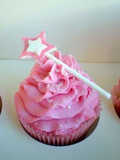 Cupcake - simple princess wand