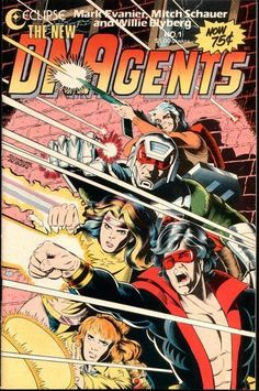 DNAgents - This was never one of my absolute favorites, but it was a decent read, and since it was really a product of its time, the imagery evokes some serious nostalgia.