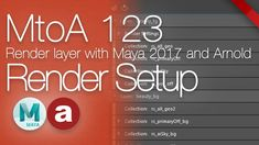 MtoA 123 | Render Setup | using Arnold with Maya 2017