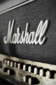 Marshall amps. Nothing is cooler!