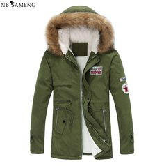 34.50$  Watch here - http://alionw.shopchina.info/go.php?t=32770538574 - Hot Sale 2017 New Men's Winter Jacket Men Hooded Wadded Thicken Winter Coat Men Casual Slim Pure Color Outwear Parka Men S-4XL  #magazine