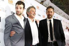 Jay Baruchel, Kurt Russell and director Jonathan Sobol at The Art of the Steal #tiff13