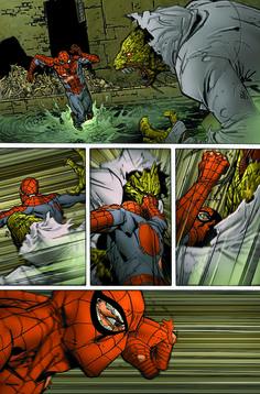 Spider-man VS Lizard by Giuseppe Camuncoli Amazing Spiderman, Spiderman Movie, Marvel Heroes, Marvel Characters, Marvel Comics, Comic Books Art, Comic Art, Stan Lee, Spiderman Tattoo