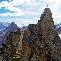Canada, Sky Walking at Mt. Nimbus