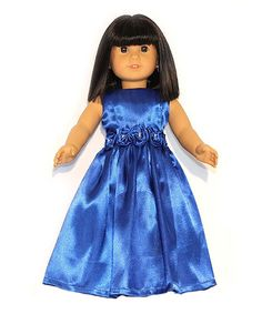 Look at this Blue Grand Ball Dress for 18'' Doll on #zulily today!
