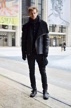mens pull on boots street shots - Google Search