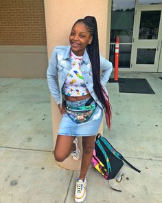 Excellent Absolutely Free Back to School-Outfit black girl Suggestions, Cute Swag Outfits, Dope Outfits, Girly Outfits, Pretty Outfits, Urban Outfits, Classy Outfits, Casual Outfits, Teenage Girl Outfits, Outfits For Teens