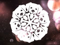 Star Wars Snowflakes, Snowflake Cutouts, Paper Snowflakes, Christmas Snowflakes, Christmas Crafts, Paper Snowflake Designs, Paper Snowflake Template, Diy Paper, Paper Crafts