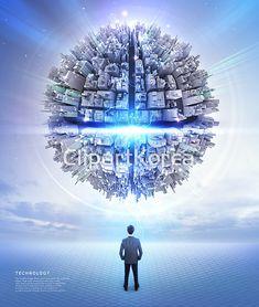 合成ㆍ编辑 - Clip Art Korea :: Pathway Image Co., Big Data, Pathways, Business Card Design, Mood Boards, Lighting Design, Korea, Clip Art, Poster, Image