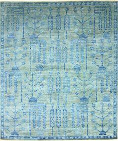 Vendimia Rugs Overdyed Pakistani OVR88 Blue Rug