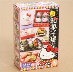 Re-Ment Hello Kitty Japanese Sweets Shop Miniature 2