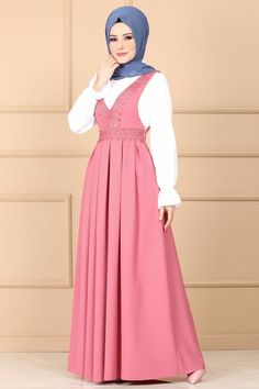Hijab Style Dress, Modest Fashion Hijab, Hijab Outfit, Muslim Fashion, Culture Clothing, Mom Daughter, Fashion Sewing, The Dress, Indigo