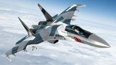 Super Flanker The is a generation ++ fighter jet, with a twin-engine supermaneuverable tvc. Air Fighter, Fighter Pilot, Fighter Jets, Sukhoi Su 35, Luftwaffe, Thrust Vectoring, People's Liberation Army, Russian Air Force, Military Humor