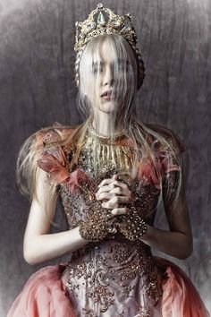 """Rococo Inspired ~ """"Queen of Kings"""" Editorial - Moustache Magazine"""