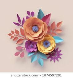 Colorido Fieltro Flor morir cortes pequeñas flores de fieltro formas Flores De Arco Iris