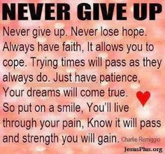 You are stronger and further along than you think. Never give up! Quotes To Live By, Me Quotes, Motivational Quotes, Inspirational Quotes, Faith Quotes, Qoutes, Never Lose Hope, Never Give Up, Having Patience