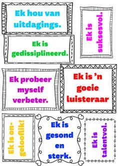 Afrikaans, Grade 1, Homeschool, Parenting, Positivity, Teacher, Activities, Motivation, Education