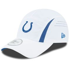 new concept 7d40c a5b5a Indianapolis Colts New Era On-Field Training Camp Runner CoolERA Hat - White