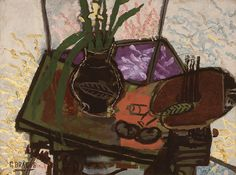 Georges Braque,  Still Life with Palette, 1943