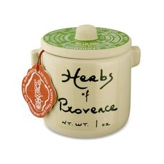 Herbs of Provence in Ceramic Crock #williamssonoma