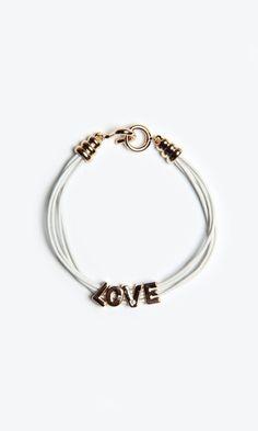 Shop Local Socialite Love Charm Bracelet | HaulerDeals - $9.95