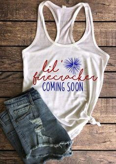 pregnancy announcement shirt, of July pregnancy shirt, fourth of july baby announcement shirt, we'd like some BBQ please tank Funny Pregnancy Shirts, Pregnancy Humor, Pregnancy Outfits, Baby Shirts, Pregnancy Clothes, Pregnancy Info, Maternity Shirts, Maternity Costumes, Mom And Me Shirts