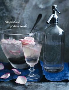 I am soo ready for a pretty, girly drink!! How about some bubbly prosecco mix with gin and rose water (you can buy it here) Perfect drink for a girls night in..!!!!