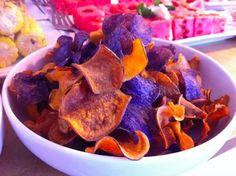 Handmade chips! Blue Mesa Grill