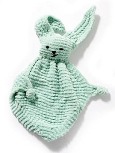 bunny buddy blanket knitting pattern