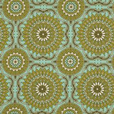 "Bungalow SATEEN - Doily in Forest - SAJD023.FORES - 54"" wide - 1/2 Yard"
