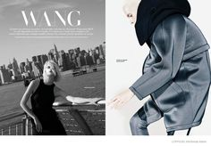 Alexander Wang x H&M in LOfficiel Mexico Shoot by Sevda Albers