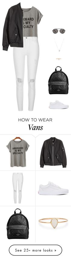 """""""Young"""" by candynena228 on Polyvore featuring Vans, River Island, Seafolly, Links of London, Catbird and Miu Miu"""