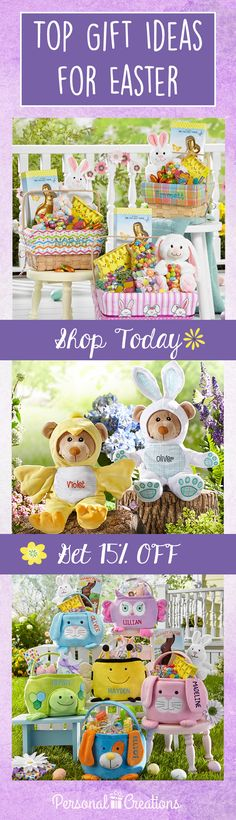 Eggstra! Eggstra! Calling all bunnies! Hop over and see our Easter collection. Shop today and get 15% off your order.