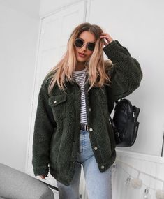 "10.4k Likes, 116 Comments - Lydia Rose (@fashioninflux) on Instagram: ""Okay right now I'm obsessed with getting a kitten and calling it Olive. Blaming this coat for the…"""