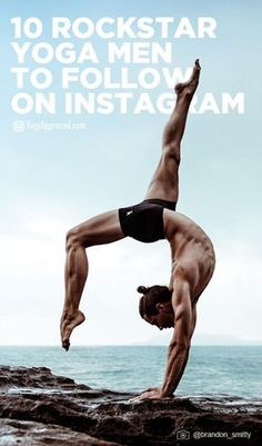 Check out these 10 Rockstar Yoga Men of Instagram - Pin it now, check it out later.