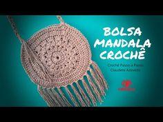 Bolsa Mandala Crochê Crochê Passo a Passo
