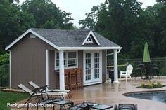 pool+house+sheds | Amish Storage Sheds, Wood Sheds, Vinyl Storage Shed Kit, Prefab Vinyl ...