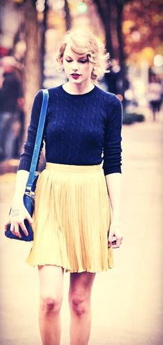 Taylor Swift's style is so adorable