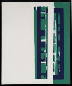 Windorf - Vert, Blanc #gallery #art #abstraction #paris #pfgarcier