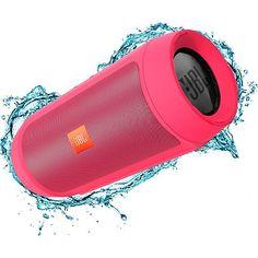 Caixa de Som Bluetooth JBL Charge 2+ Rosa 15W _ sou barato (reembalado)