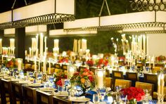 Dinner at photo studio inspired in party by GPH design